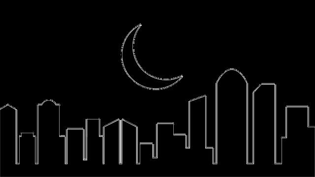 building city night  u00b7 free vector graphic on pixabay
