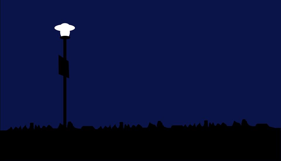 Minimal Light Night Free Vector Graphic On Pixabay