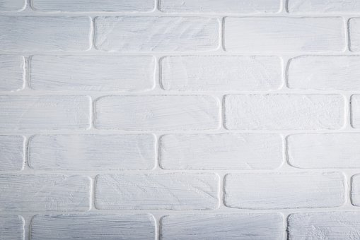 Background, Texture, Brick, Wall, White