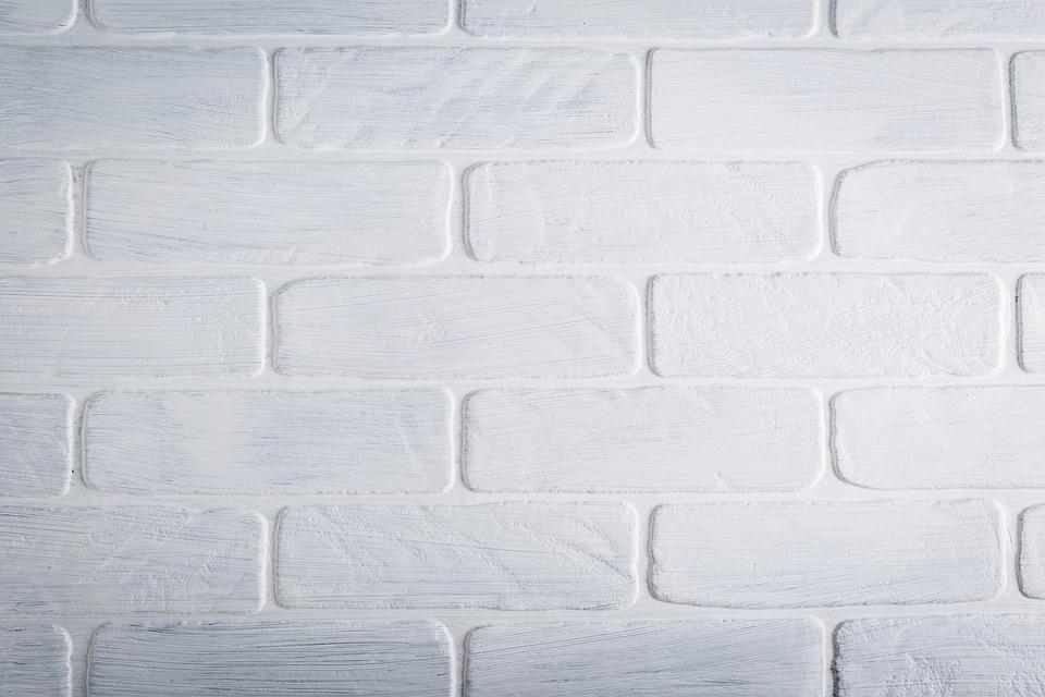 テクスチャ, れんが, 壁, ホワイト, ペイント, パターン, レンガの壁, 白レンガ, 装飾的な