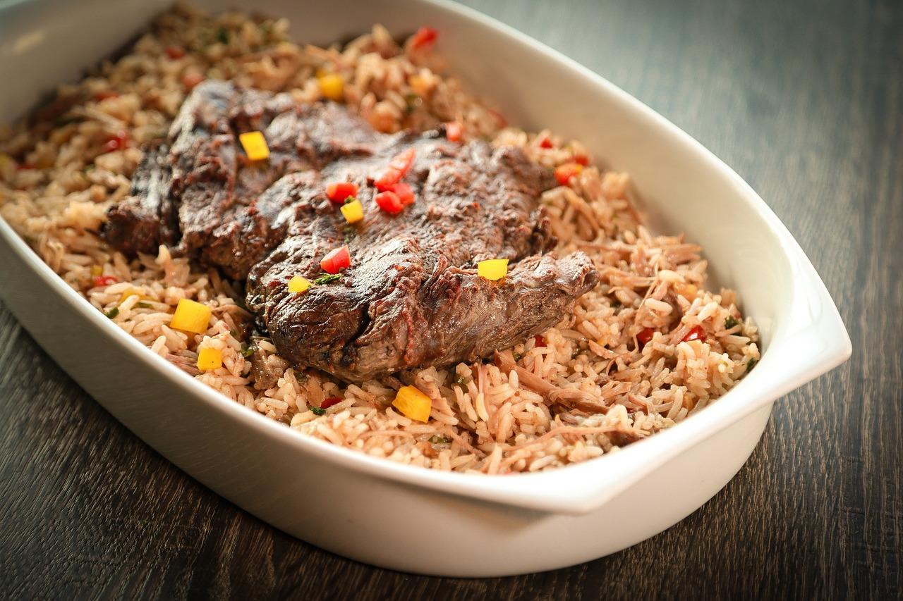 Плов в сковороде из баранины рецепт пошагово