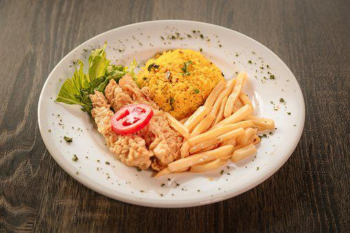 Meal, Sauce, Restaurant, Plate