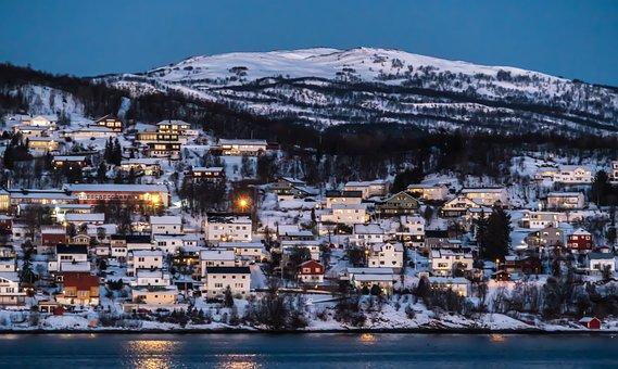 ノルウェー, 海岸線, 水, スカンジナビア, ヨーロッパ, 風景, 自然, 空