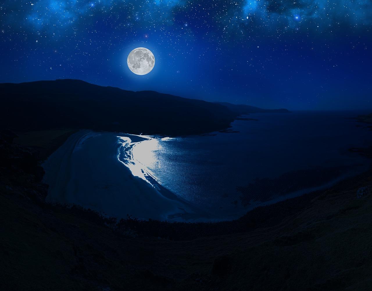 Лунный свет фото картинка