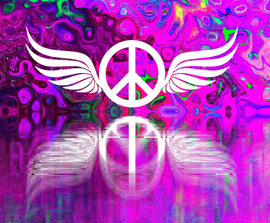 Harmony, Peace, Togetherness, Love Peace, Retro, Hope