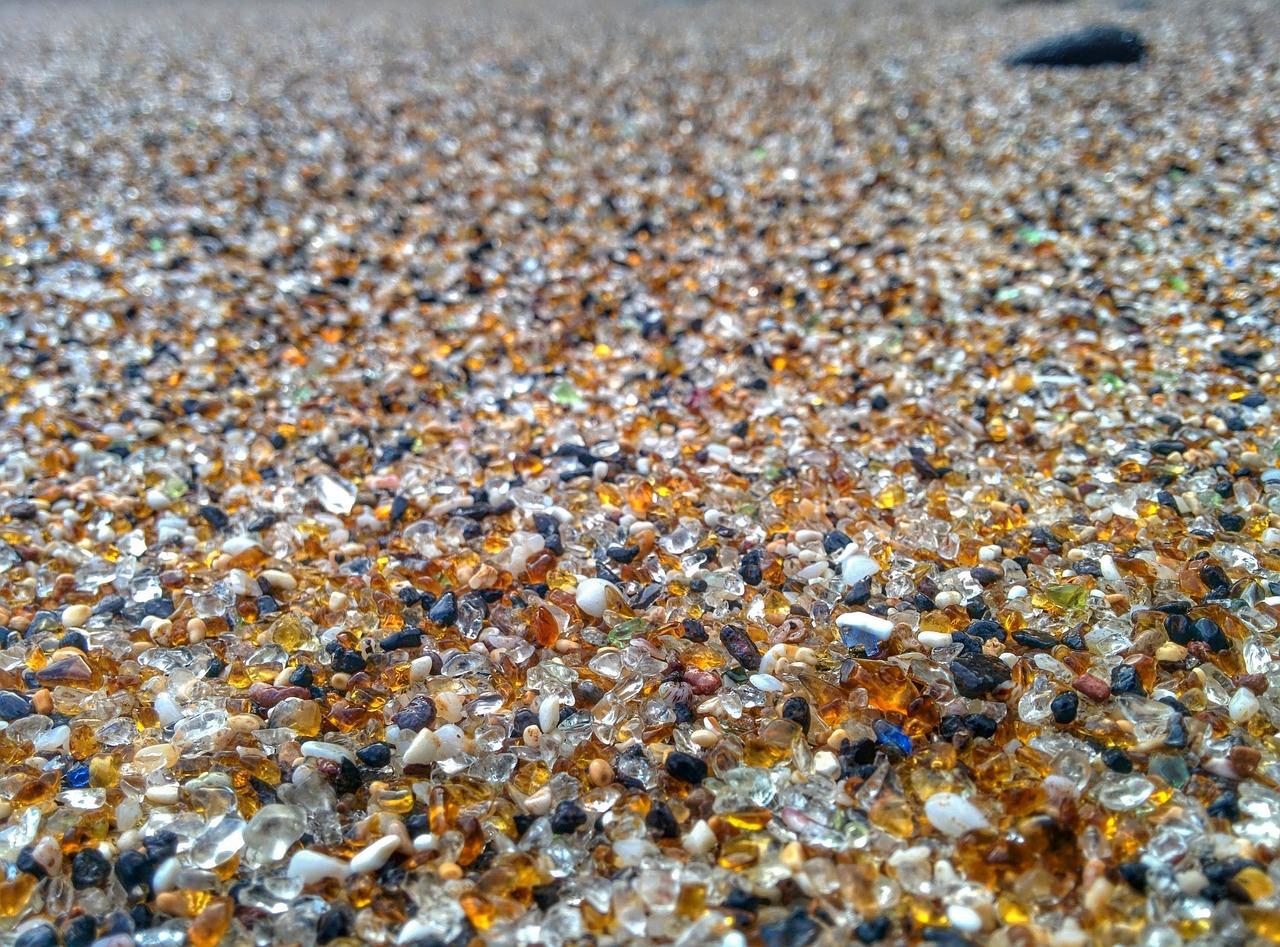 Стекло из песка картинка
