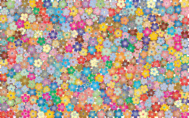 Floral Flowers Abstract · Free Vector Graphic On Pixabay
