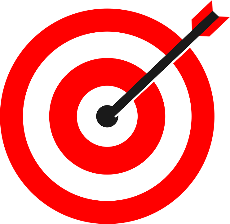 bullseye image free  Target Arrow Bulls Eye · Free vector graphic on Pixabay