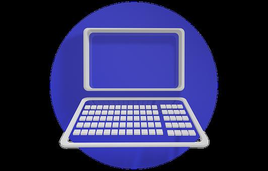 Icon, Pc, Blue, Computer
