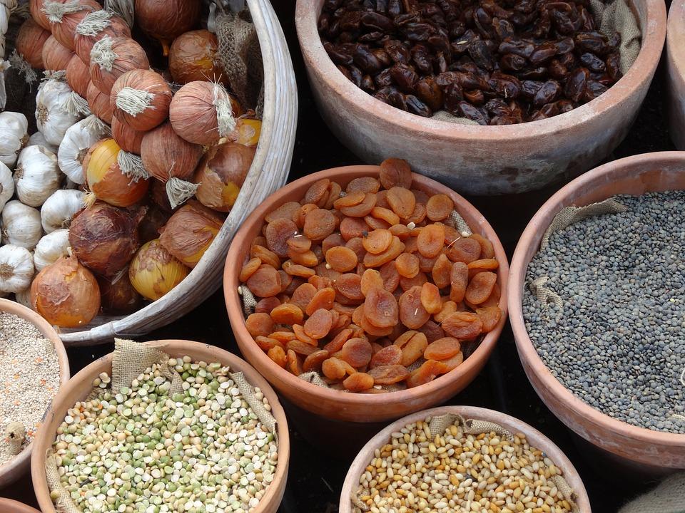 Pulses, Onions, Apricots, Lentils, Cuisine, Natural