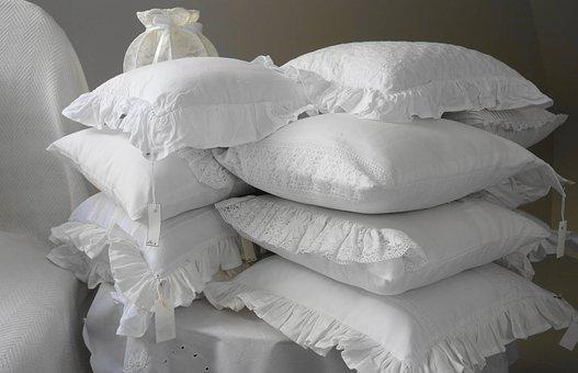 Pillow Pillows The Scenery Bedroom White F