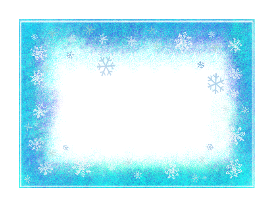 Frame Winter Flakes · Free image on Pixabay