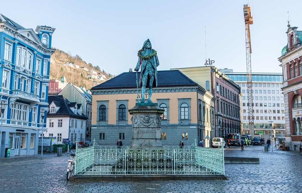 Free Photo Bergen Norway Statue City Free Image On