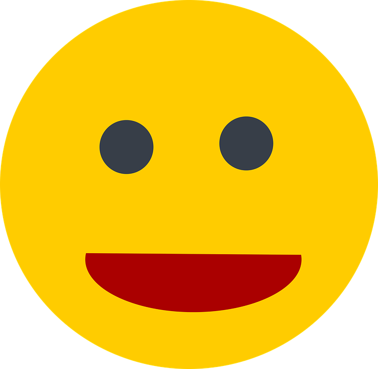 Smilie, Laugh, Smiley, Emoticon, Funny, Yellow, Smile