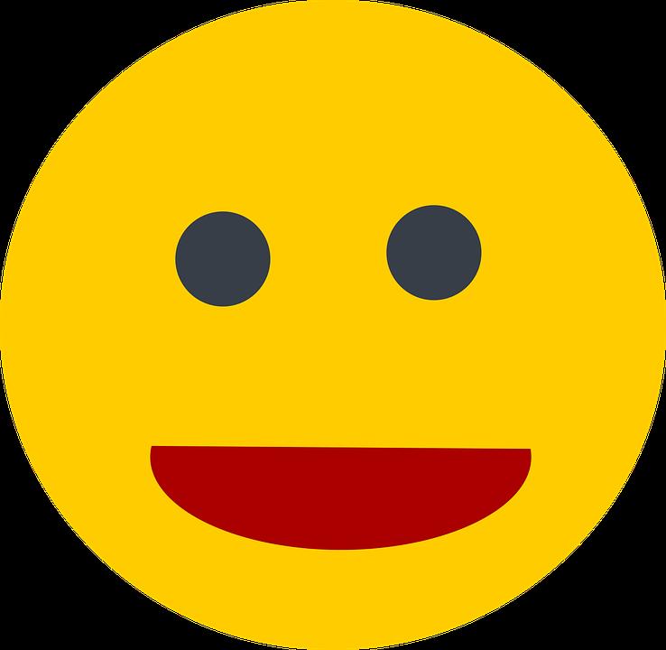 Smilie, Laugh, Smiley, Emoticon, Funny, Yellow, Smile