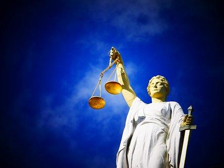 Justitie, Recht, Rechtspraak, Rechtbank