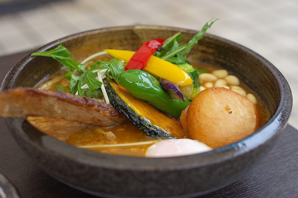 スープカレー, 野菜, カリー侍