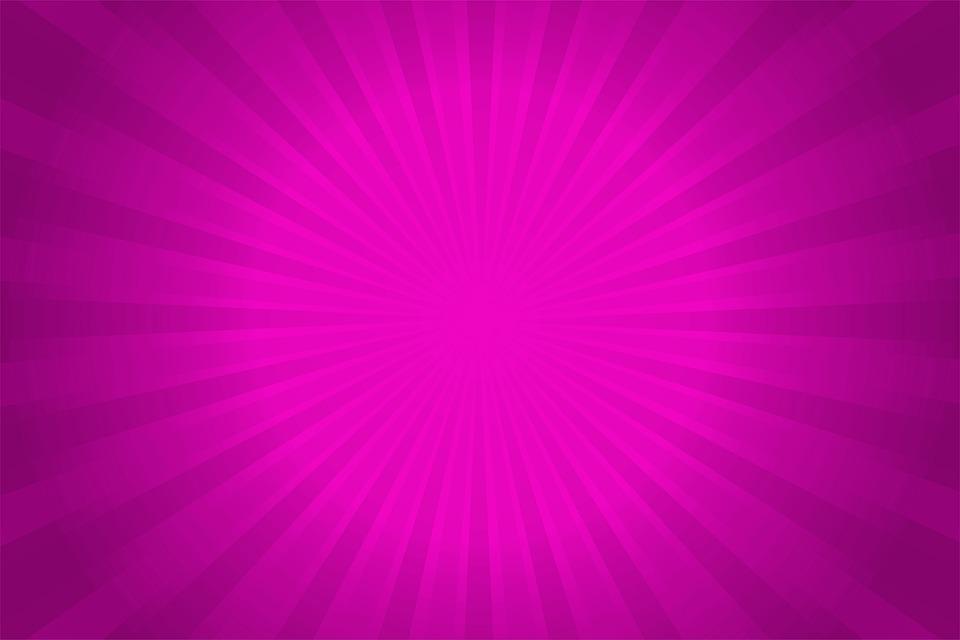 Ilustración Gratis: Radial, Rosa, Fondo, Color Rosado