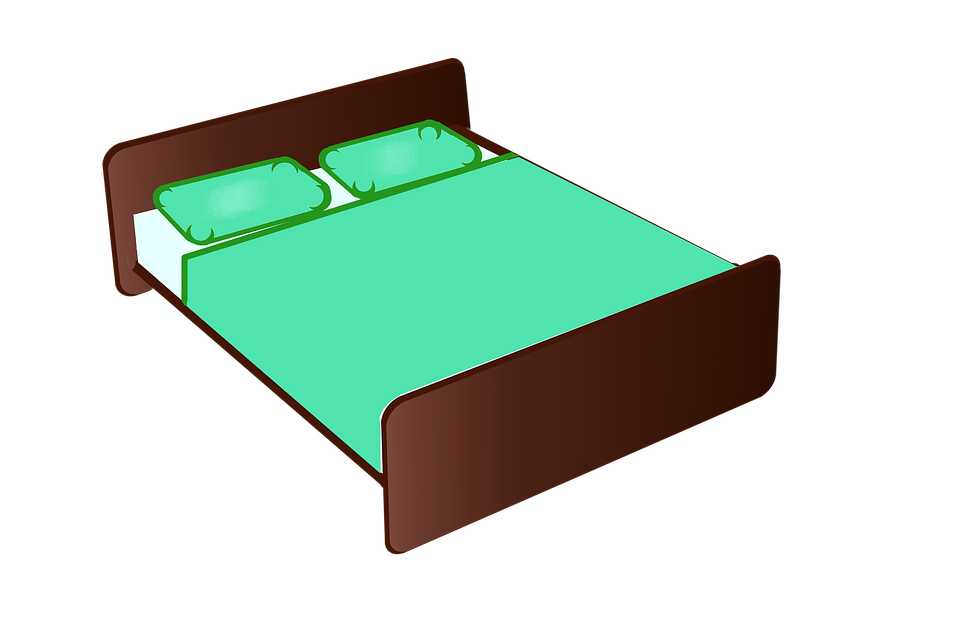 Bed  Bedroom  Furniture  Night  Rest  Featherbed. Free illustration  Bed  Bedroom  Furniture  Night   Free Image on