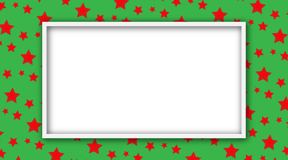 Estrella Verde Marco De Fotos · Imagen gratis en Pixabay