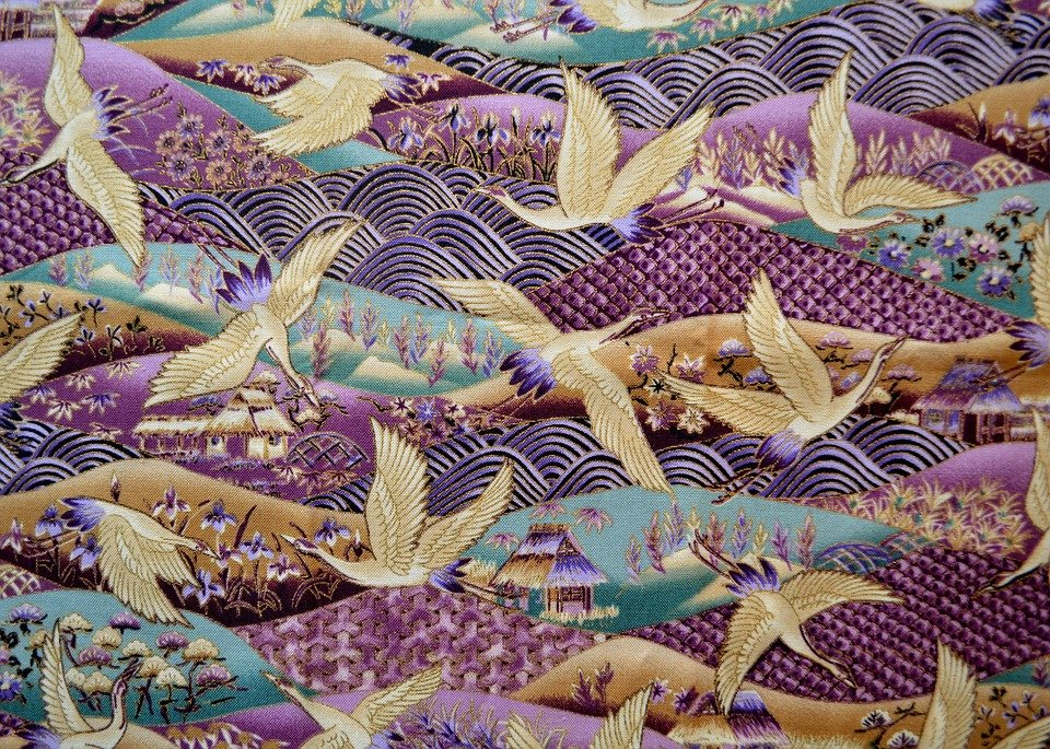 Free Illustration Textile Fabric Cloth Pattern Free