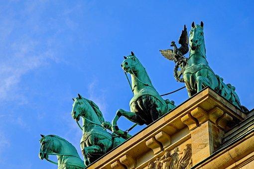 La Puerta De Brandeburgo, Berlín, Hito