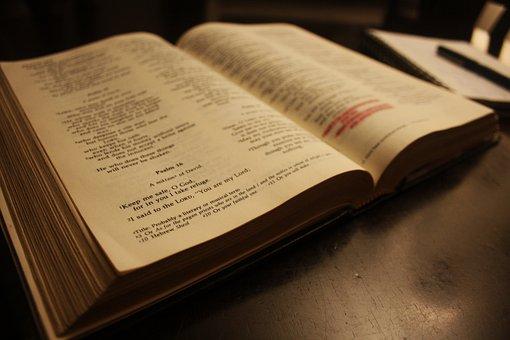 Book, Bible, Text, Literature