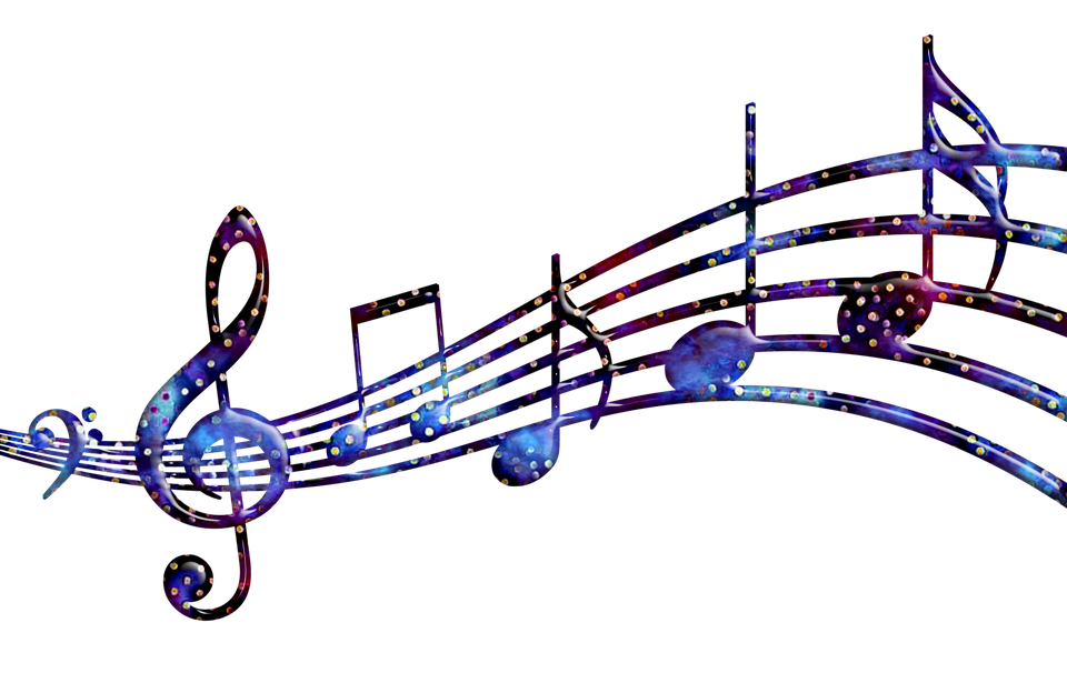 music notes star time techno color free image on pixabay