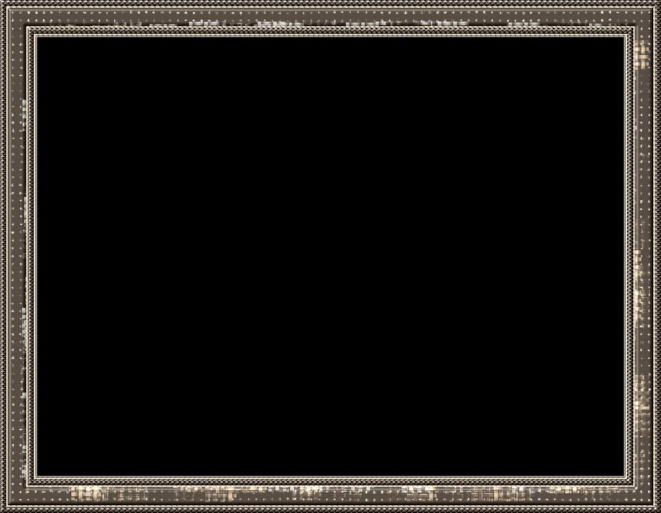 frame outline picture frame brown