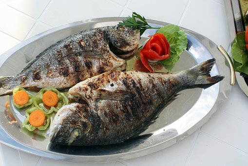 Fish, Grill, Grilling, Natural Food