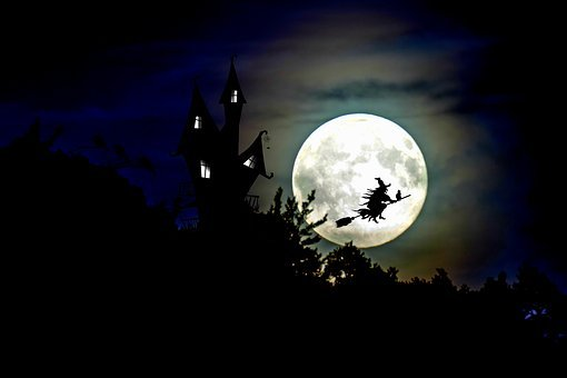 The Witch, Witch'S House, Full Moon