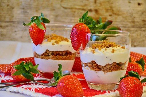 Strawberry Dessert Strawberries Dessert Yo