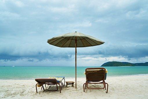 旅, 休暇, 夏, アジア, トロピカル, 驚くべき, 自然, 海, 風景