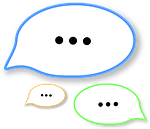 talk, dialogue, discussion