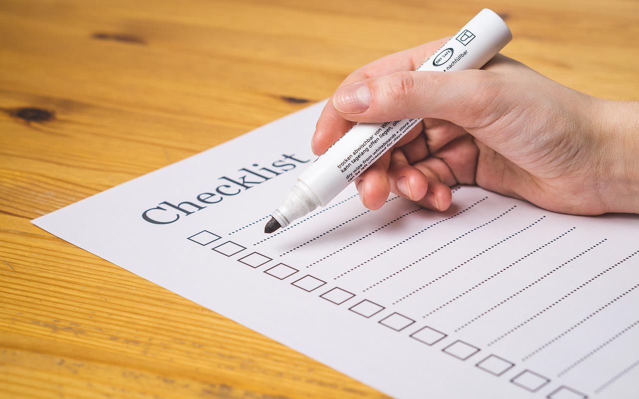 Checklist for Creating an Employee Handbook