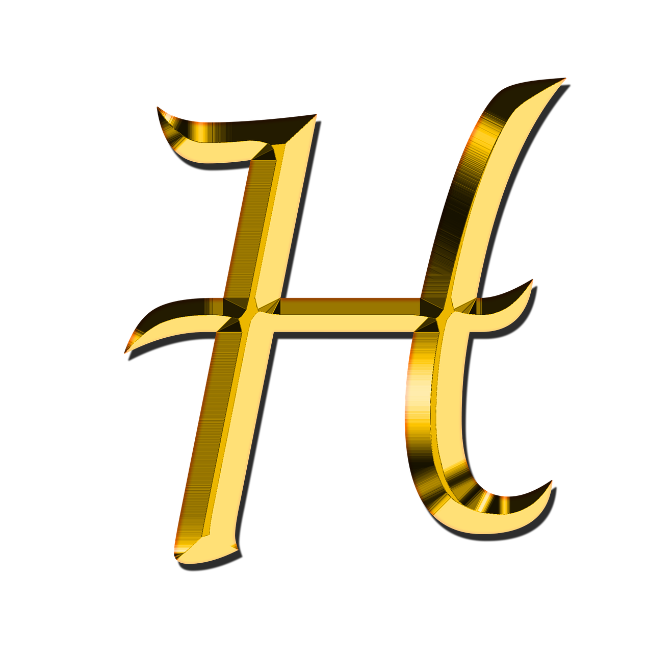 Letters Abc H - Free image on Pixabay
