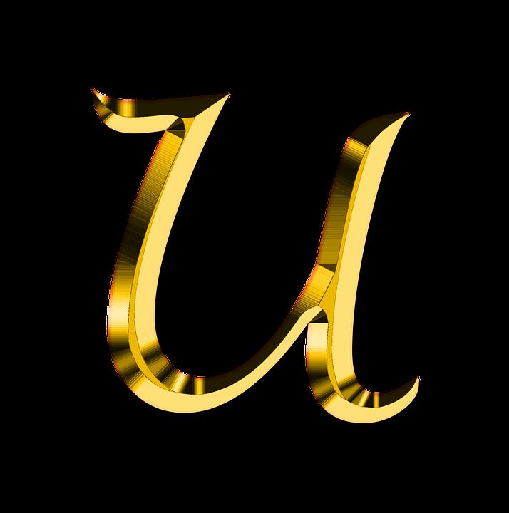 Buchstaben Abc U Kostenloses Bild Auf Pixabay