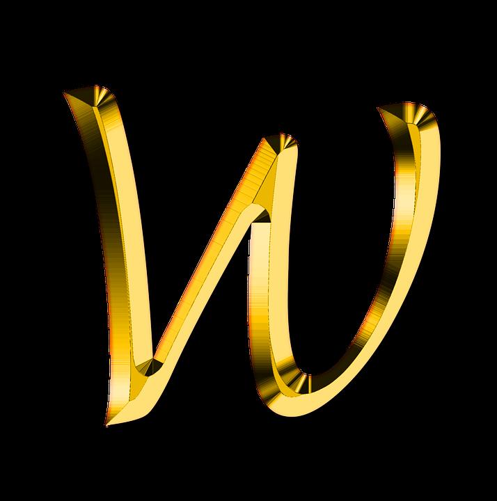 Buchstaben Abc W Kostenloses Bild Auf Pixabay