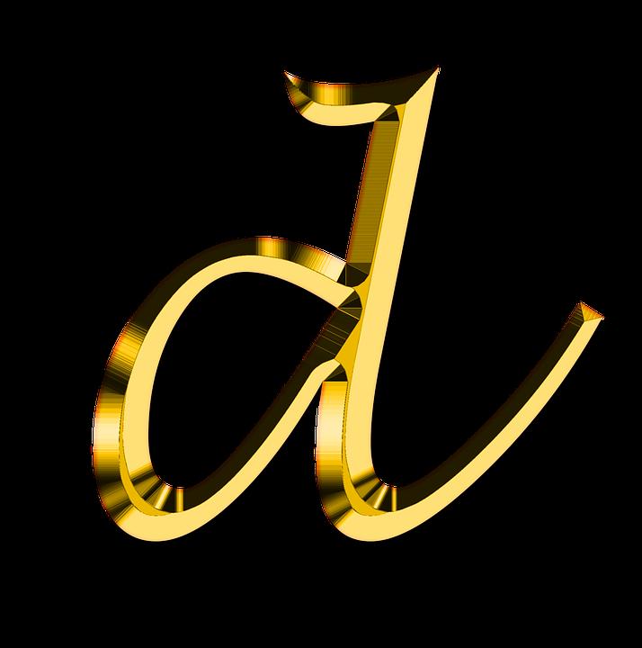 ce9fc383ac2 Letters Abc D - Free image on Pixabay