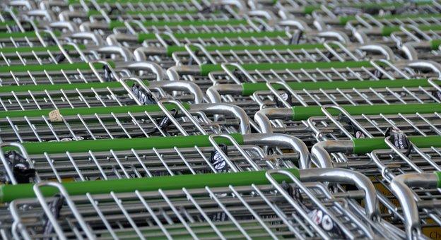 Shopping Carts, Store, Shop, Buy