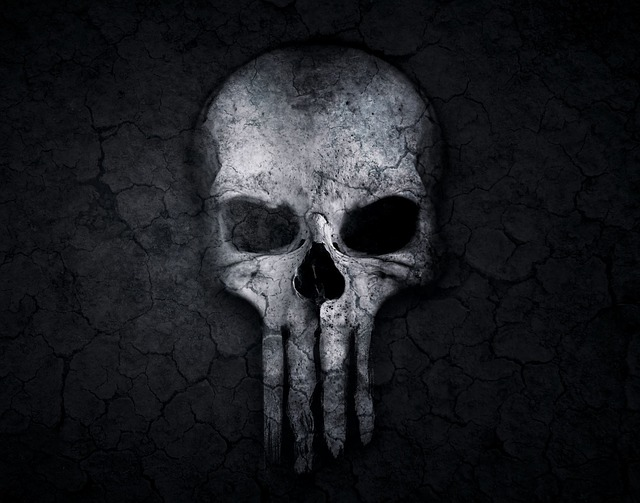 Skull and crossbones weird free image on pixabay - Skull 4k images ...