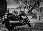 yamaha, motocykl, pojazdu