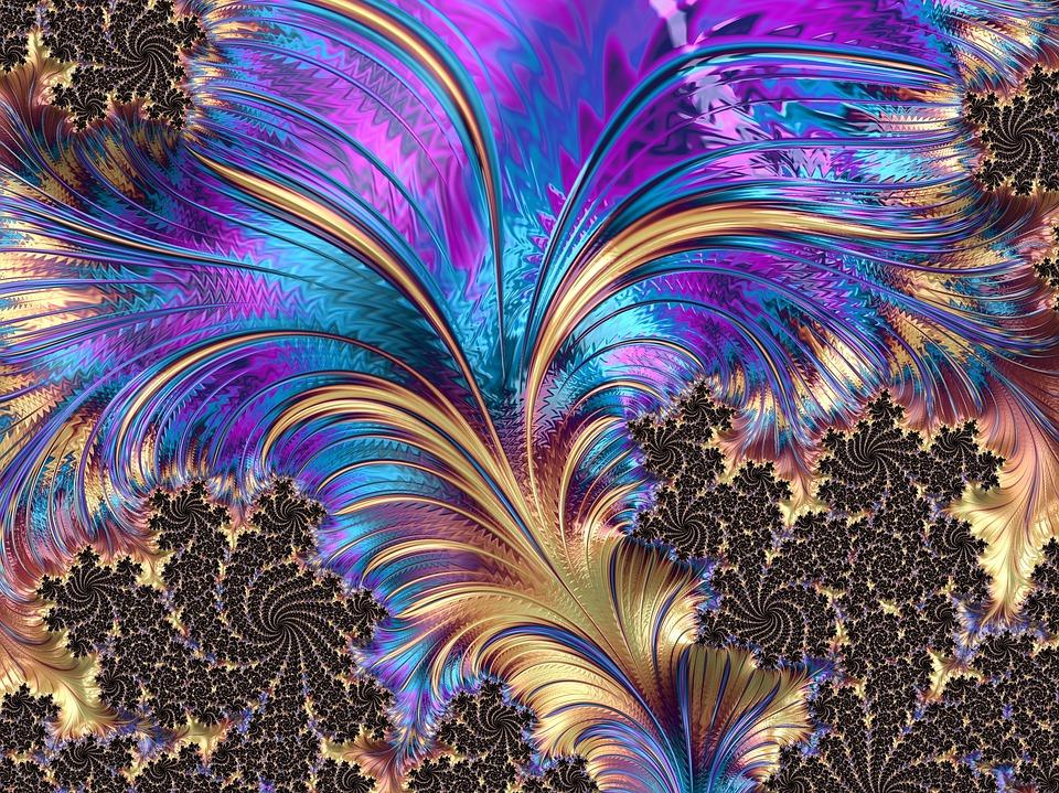 f4b35a7d45d5 Fraktal Fjäder Virvel - Gratis bilder på Pixabay