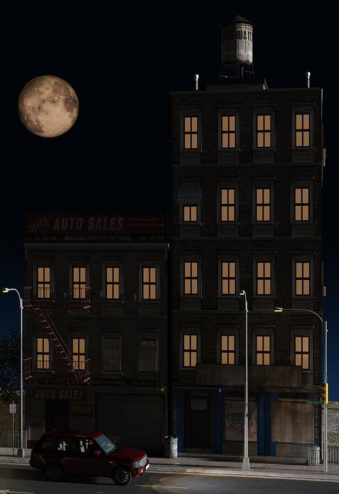 建物 家 ブロック , Pixabayの無料画像
