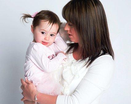 Мать И Дочь, Любовь, Родитель, Мама