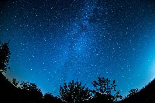 Milky Way Starry Sky Sky Star Night S