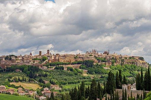 Panorámica Orvieto, Italia