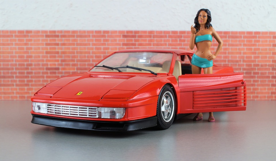 Free Photo Model Car Ferrari Testarossa Free Image On