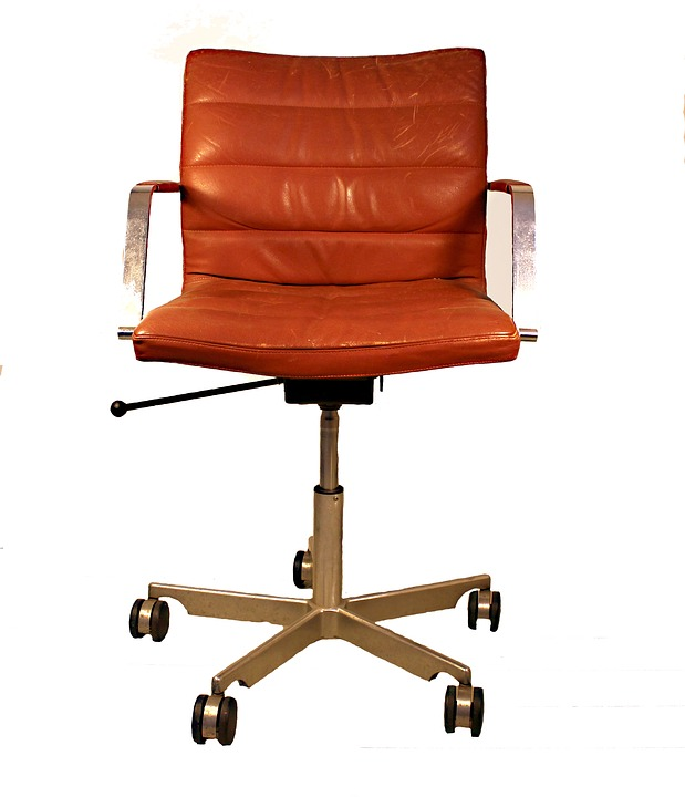 free illustration: desk chair, retro, office - free image on