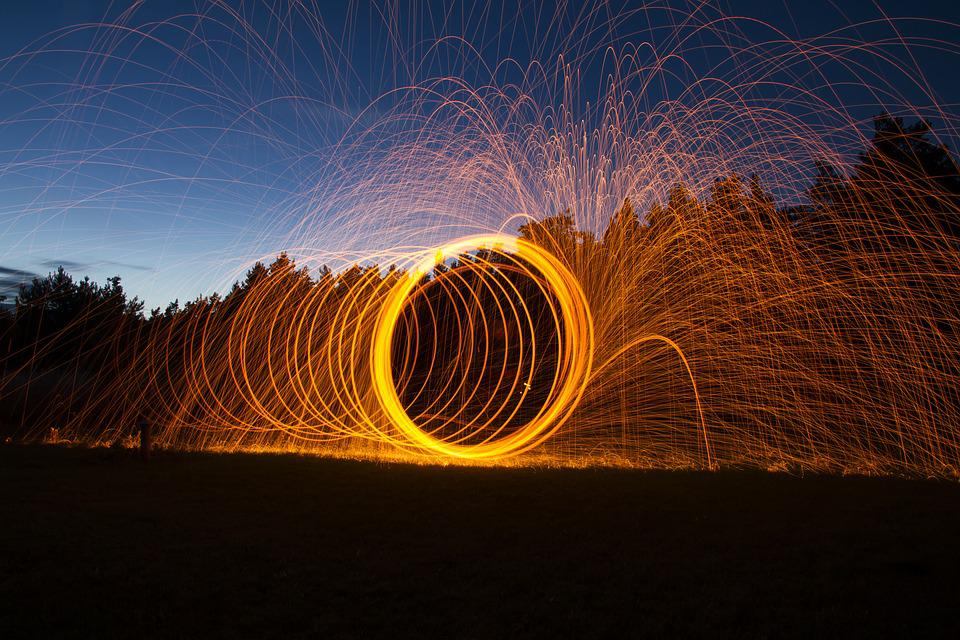 Free photo light painting fire sparks free image on pixabay light painting fire sparks the flame light nothing mozeypictures Image collections
